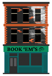 Book 'Em's Central City Book Illustrations Buildings