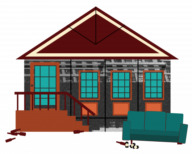 Mason's Cookhouse Central City Book Illustrations Buildings